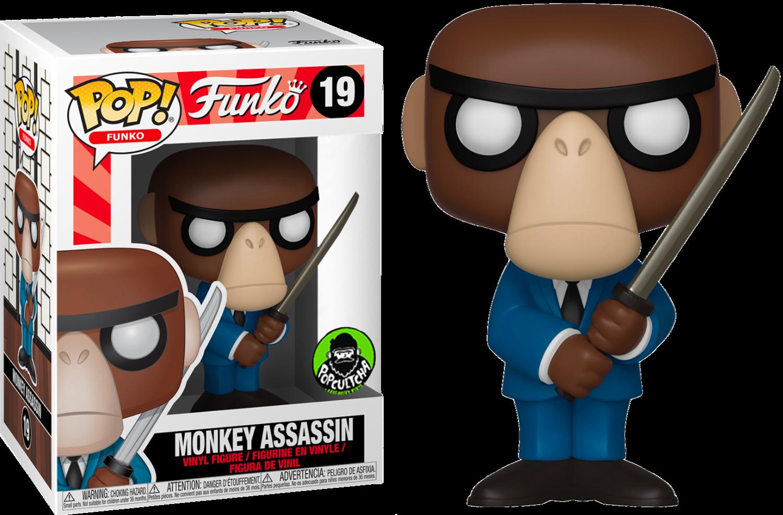 Spastik Plastik - Monkey Assassin Pop! Vinyl Figure (Popcultcha Exclusive)
