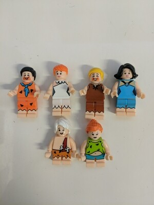 Lego Minifigure the Flinstones- the Flinstones bundle (set of 6)