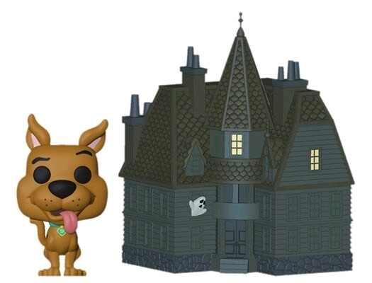 ORDER: Scooby Doo - Scooby & Haunted Mansion Pop! Town Figure