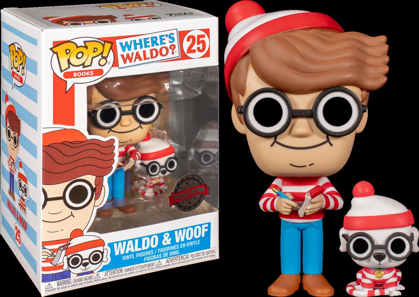 Where's Waldo - Waldo with Dog US Exclusive Pop! Vinyl [RS]