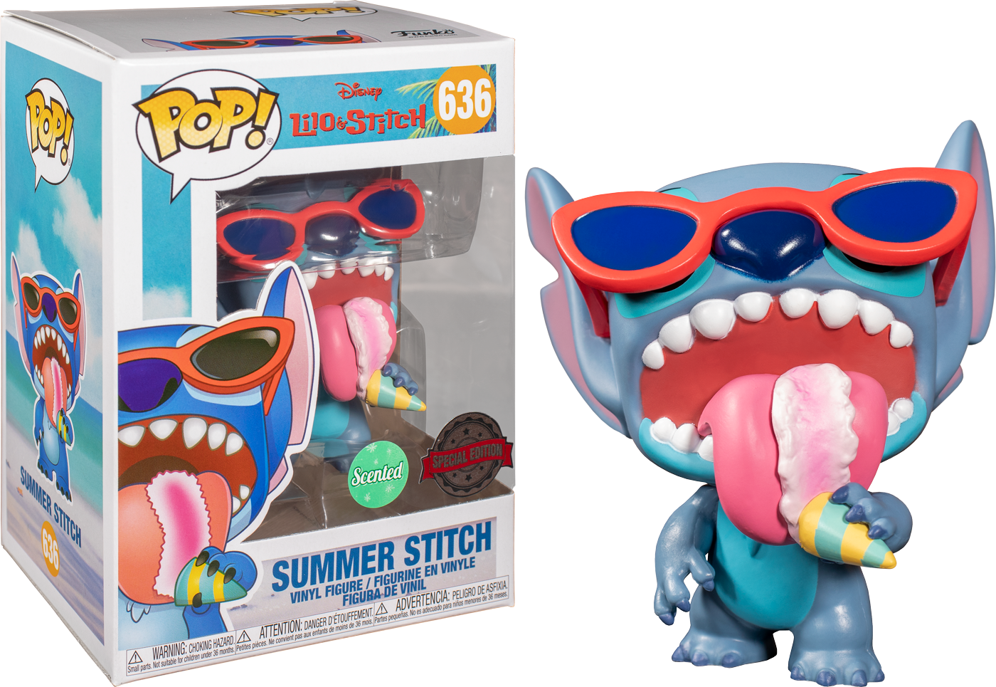 Lilo & Stitch - Summer Stitch Scented Pop! Vinyl Figure