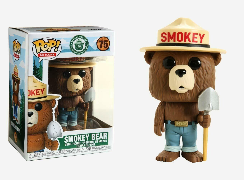 Funko Pop Icons-  Smokey Bear Pop Vinyl!