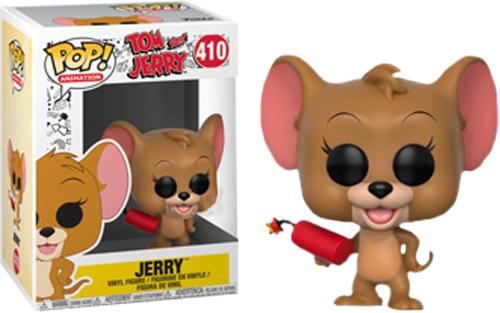 Tom and Jerry - Jerry with Explosives Pop! Vinyl Figure