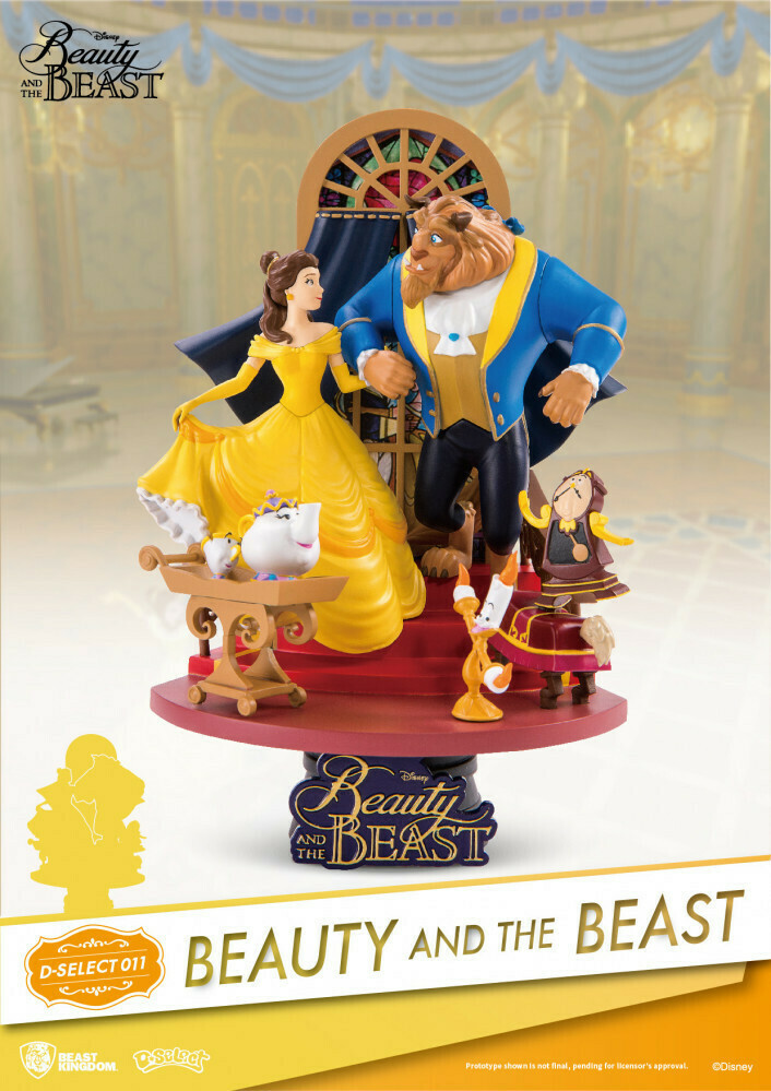 Beast Kingdom D Stage Beauty and the Beast