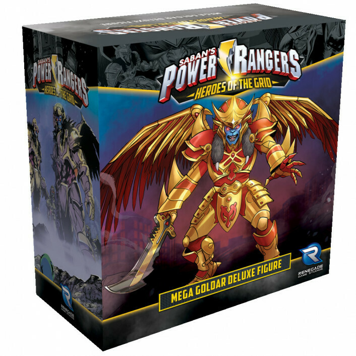 Power Rangers Heroes of the Grid - Mega Goldar Deluxe Figure