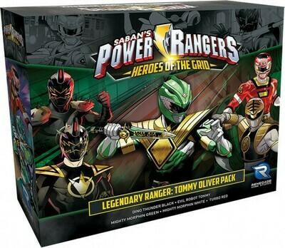 Power Rangers Heroes of the Grid Legendary Ranger - Tommy Oliver Pack