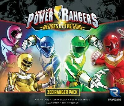 Power Rangers Heroes of the Grid - Zeo Ranger Pack