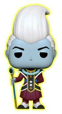 Dragon Ball Super - Whis Glow US Exclusive Pop! Vinyl [RS]