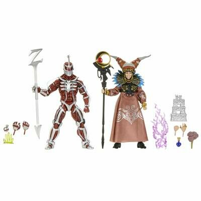 Pre-Order: Hasbro Power Rangers Lightning Collection Mighty Morphin Lord Zedd and Rita Repulsa 2-Pack Action Figures -3rd drop
