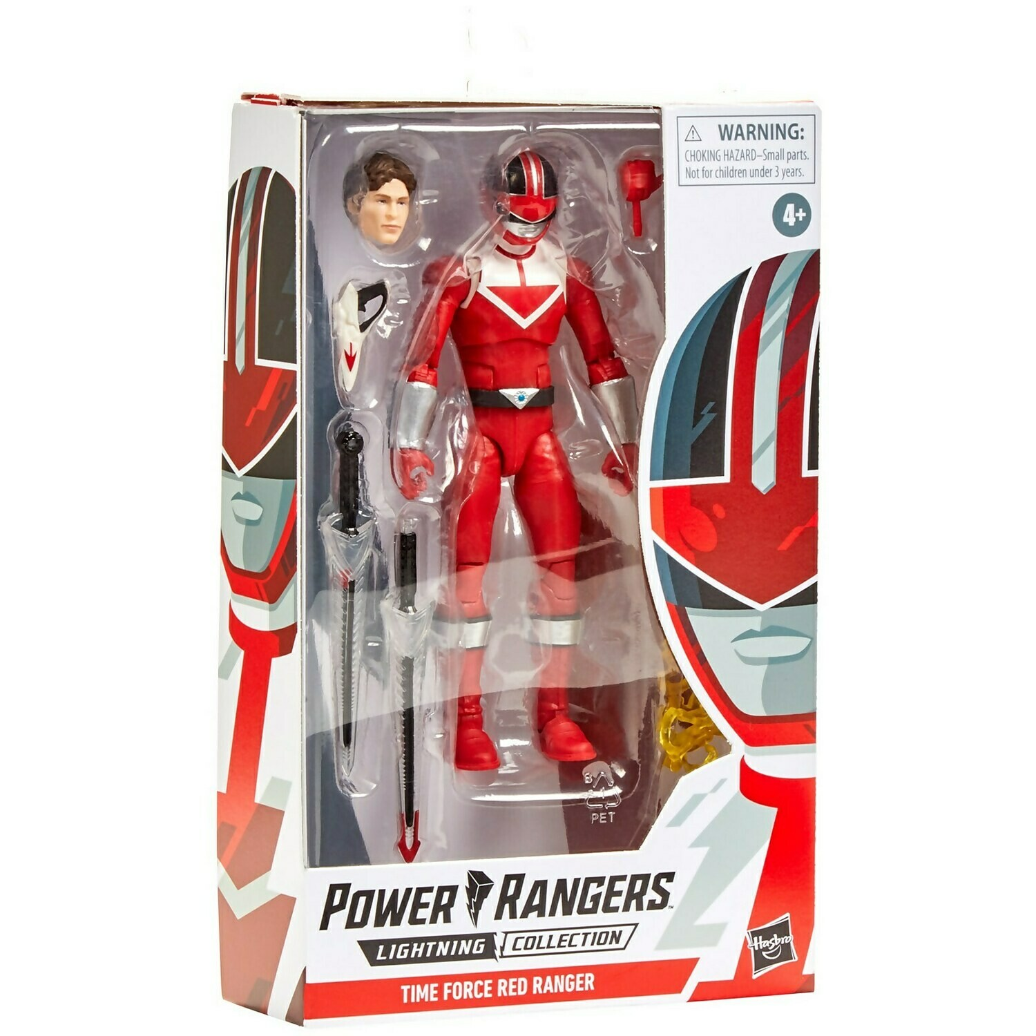 Hasbro Power Rangers Lightning Collection Time force Red Ranger 6-Inch Premium Collectible Action Figure