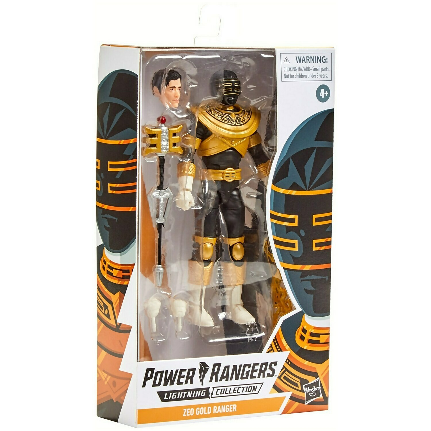 Hasbro Power Rangers Lightning Collection Zeo Gold Ranger 6-Inch Premium Collectible Action Figure