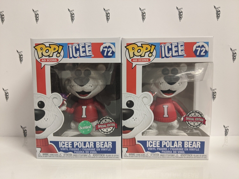Icee Polar Bear Bundle Pop! Vinyl (set of 2)