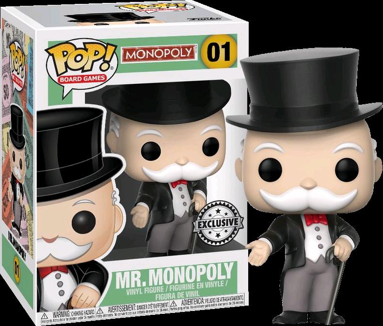 Monopoly - Mr Monopoly Pop! Vinyl Figure