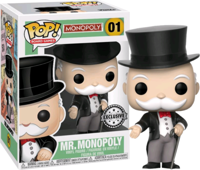Monopoly - Mr Monopoly Pop! Vinyl Figure