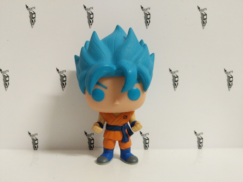 Dragonball - super Saiyan god Goku blue hair pop vinyl