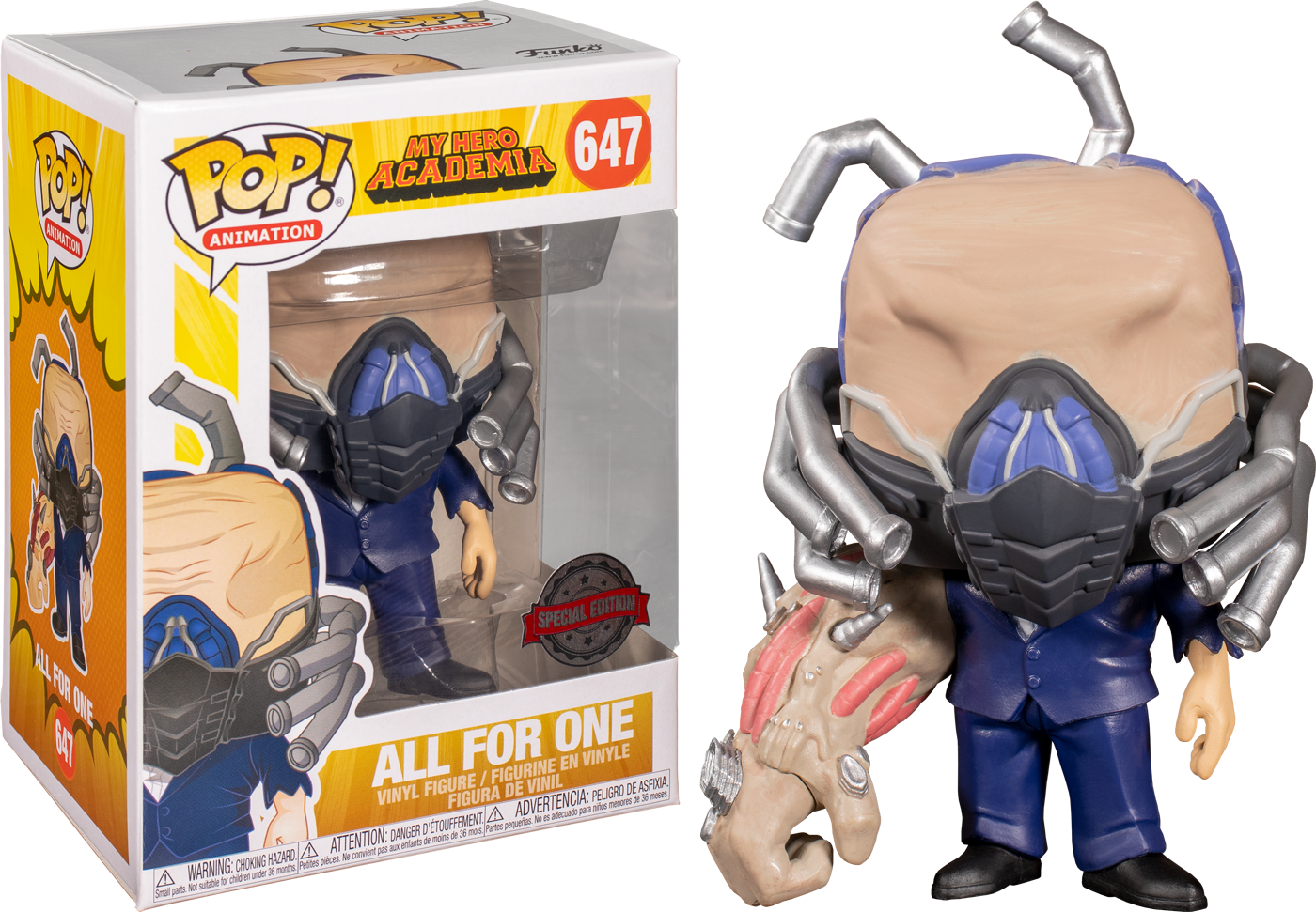 My Hero Acadamia - All for One Charged Pop! Vinyl Figure (RS)