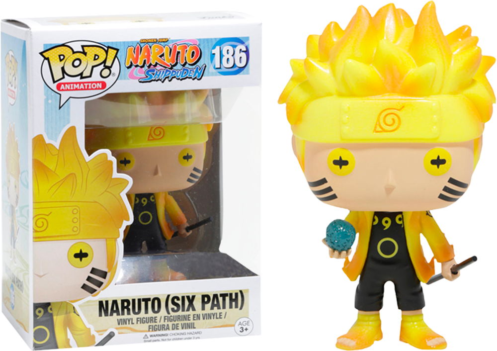 Pre-Order: Naruto Shippuden - Naruto (Six Path) Glow US Exclusive Pop! Viny