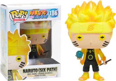 Naruto Shippuden - Naruto (Six Path) Glow US Exclusive Pop! Viny