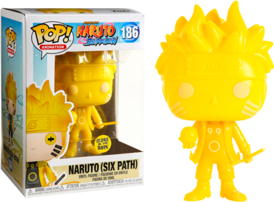 Naruto - Naruto Six Path Yellow Glow US Exclusive Pop! Vinyl [RS]