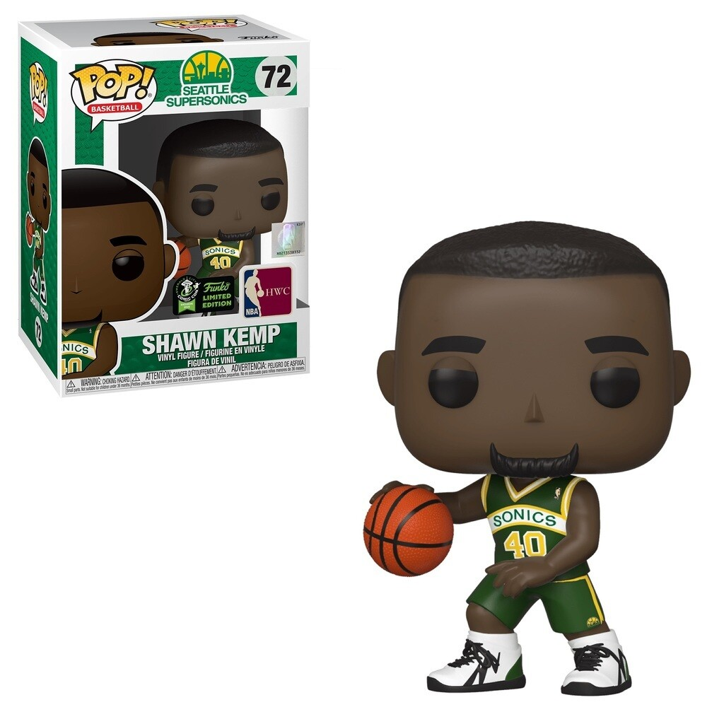 NBA- Shawn Kemp Pop! Vinyl ECCC 2020