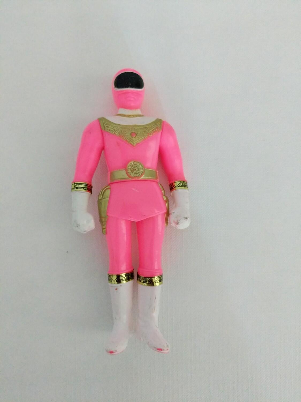 Pink zeo ranger figure