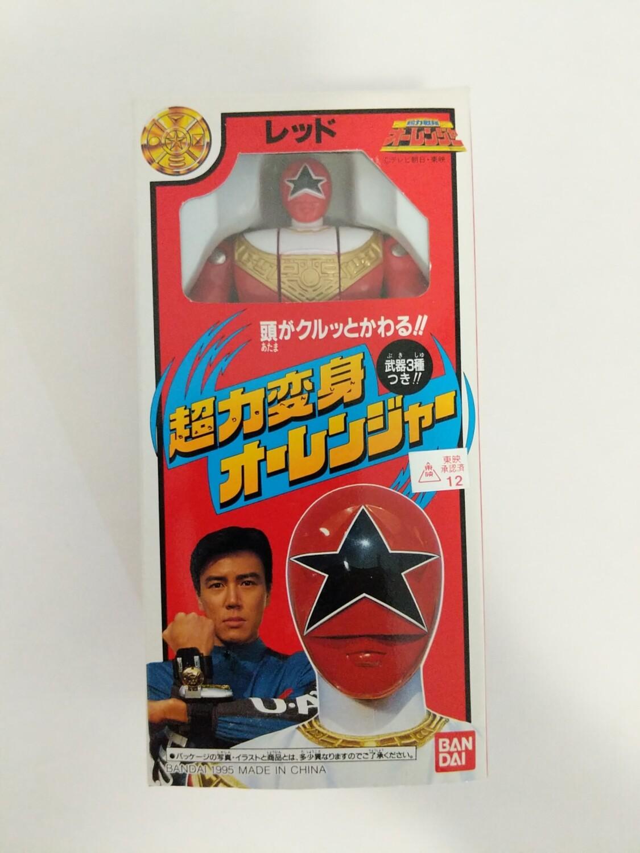 Zeo Red Ranger auto morph figure