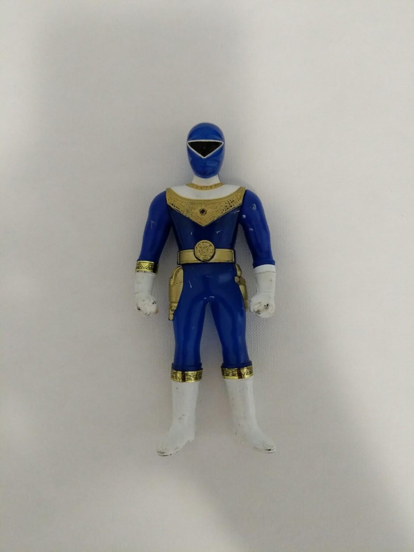 Blue Zeo ranger figure