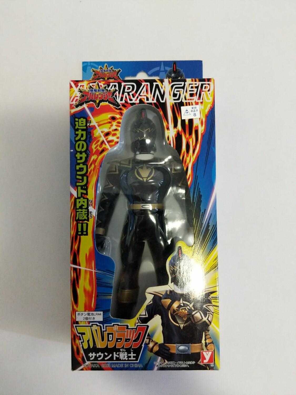 Dino Thunder Black Ranger action figure