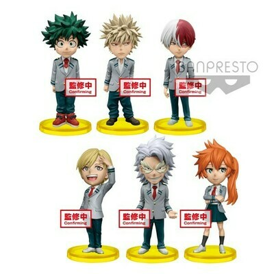 Order: MY HERO ACADEMIA WCF - WORLD COLLECTABLE VOL.4  (set of 6)
