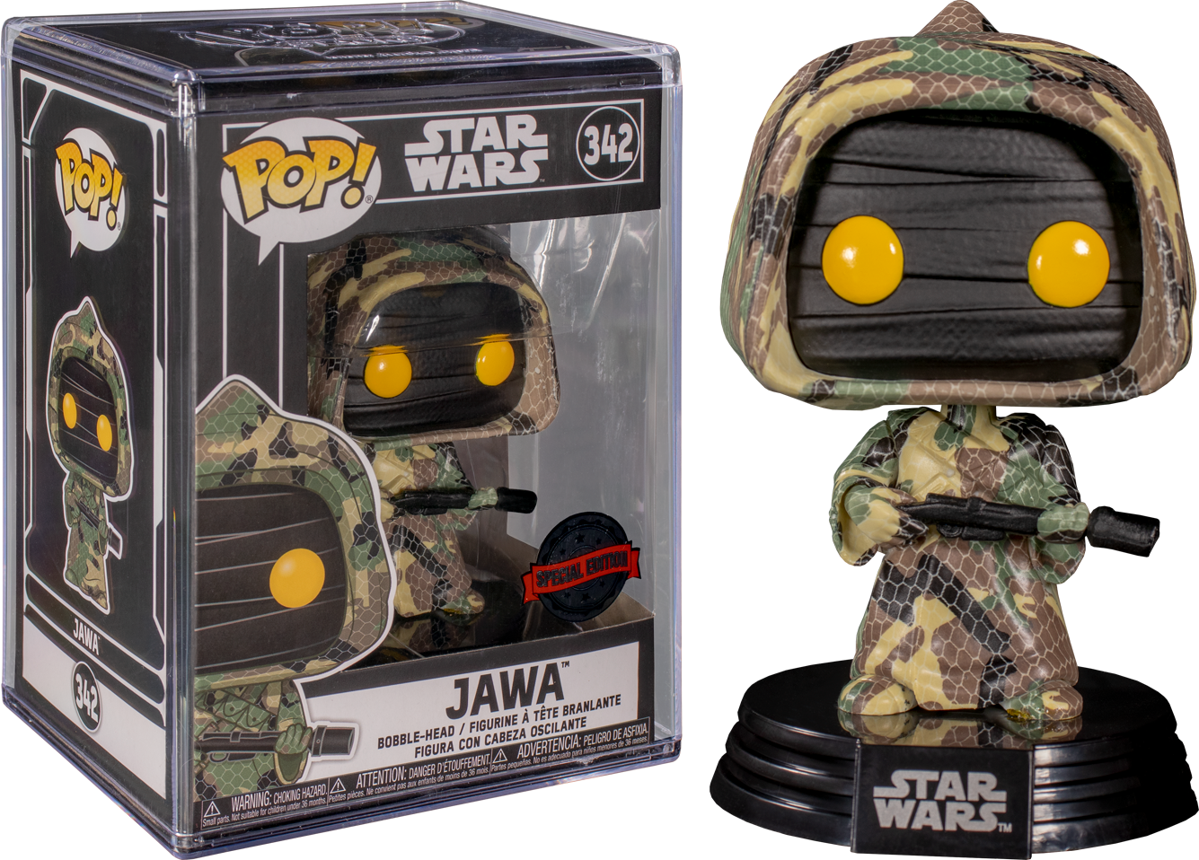 Star Wars - Jawa (Futura) US Exclusive Pop! Vinyl with Protector [RS]