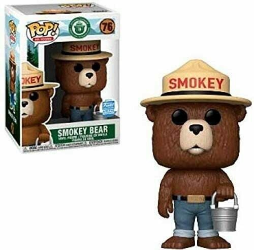 Funko Pop! AD Icons: Smokey Bear with Bucket, Exclusive Pop! Vinyl