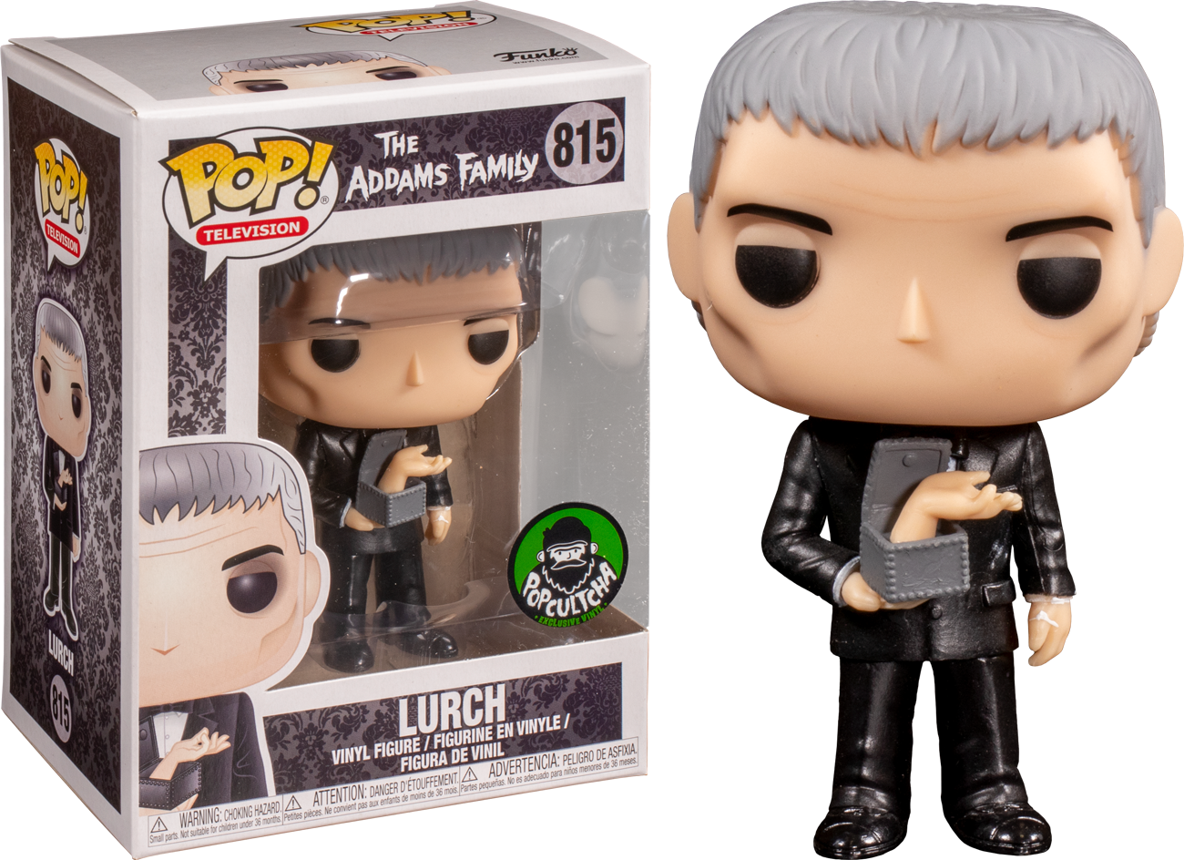 The Addams Family (1964) - Lurch with Thing Pop! Vinyl Figure
