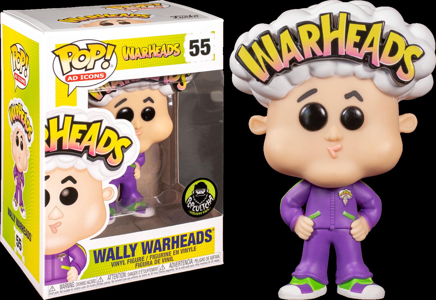 Warheads - Wally Warheads Pop! Vinyl Figure
