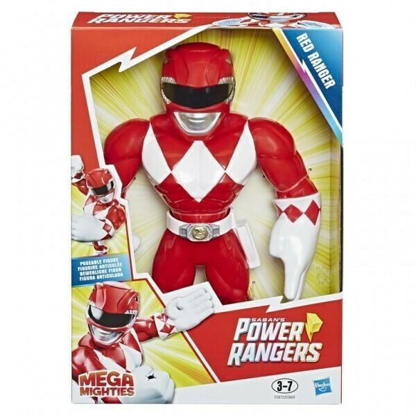 "Playskool Power Rangers Mega Mighties 12"" Figure"
