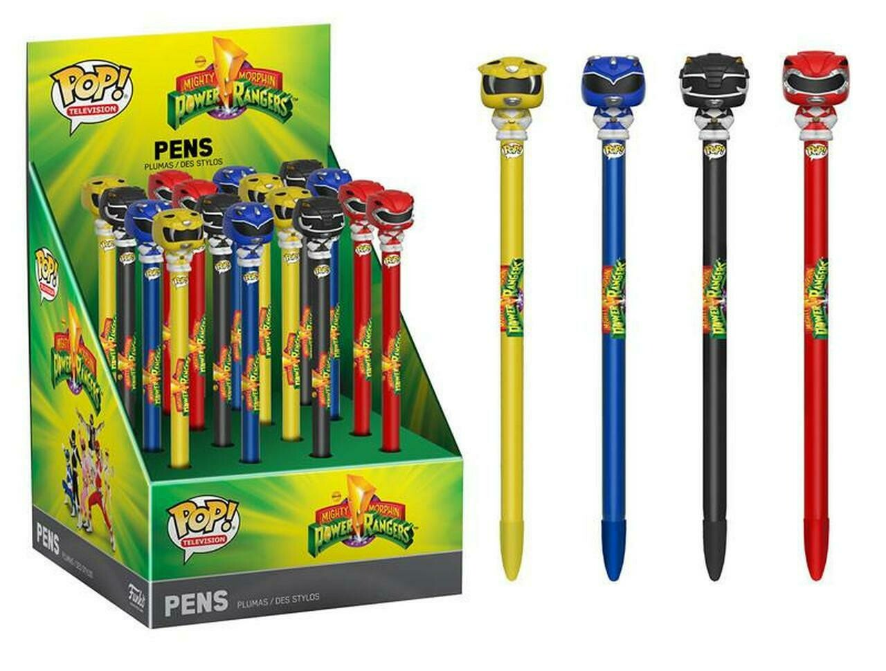 Might Morphin Power Rangers Pens