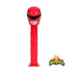 Pez Power Rangers