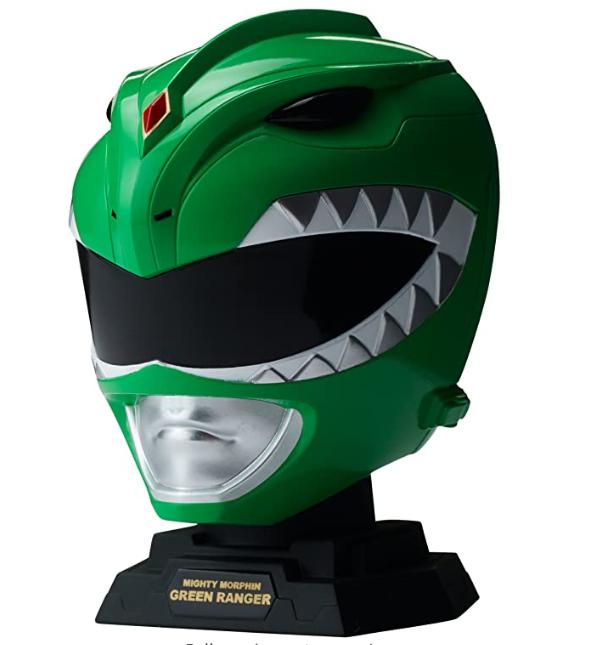 Power Rangers Legacy Mighty Morphin Green Ranger Helmet Display 1/4 Size