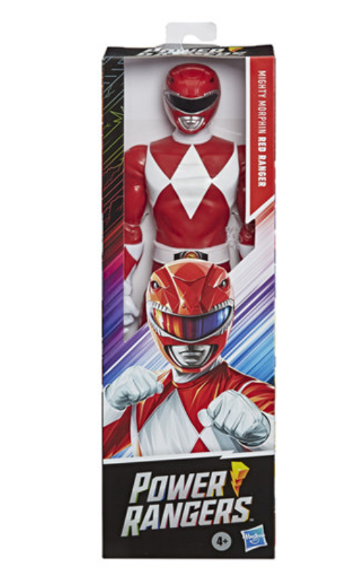 Hasbro Mighty Morphin Power Rangers- Red Ranger 12 Inch figure
