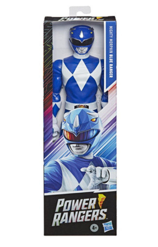 Hasbro Mighty Morphin Power Rangers- Blue Ranger 12 Inch figure