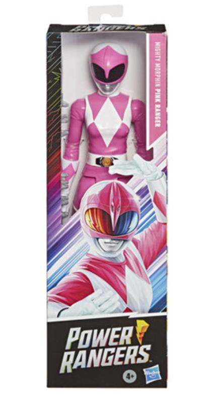 Hasbro Mighty Morphin Power Rangers- Pink Ranger 12 Inch figure
