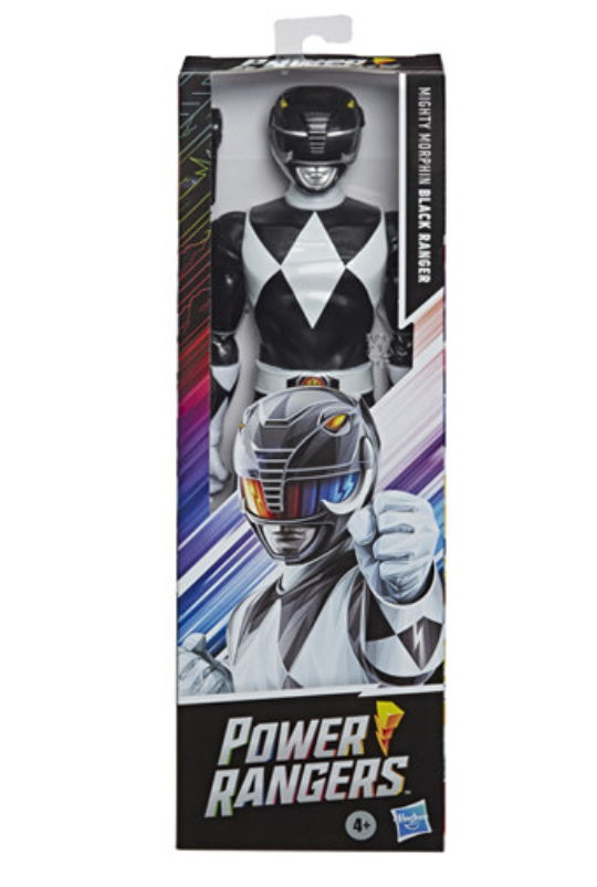 Hasbro Mighty Morphin Power Rangers- Black Ranger 12 Inch figure