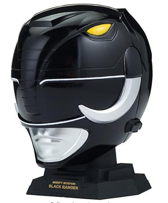 Power Rangers Legacy Mighty Morphin Black Ranger Helmet Display 1/4 Size