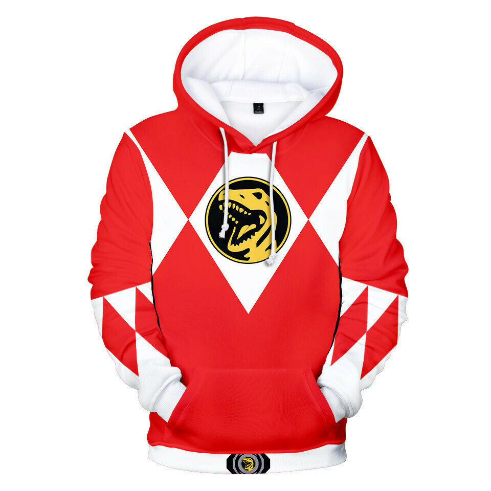 KIDS: Mighty Morphin Power Rangers Jumper Hoodie