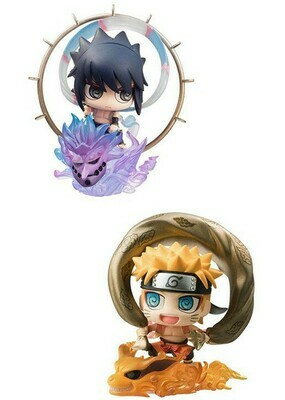 Order: Naruto: Naruto & Sasuke Fujin & Raijin Petit Chara Set Of 2