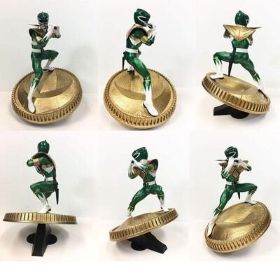 Pre-order: Mighty Morphin Power Rangers PVC Statue Green Ranger 23 cm