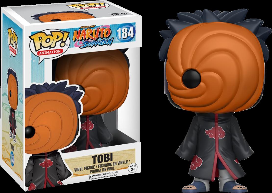 Naruto: Shippuden - Tobi Pop! Vinyl Figure