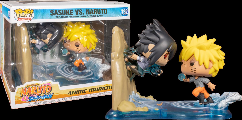 Naruto Shippuden - Naruto vs Sasuke Movie Moment Pop! Vinyl