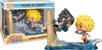 Pre-order: Naruto Shippuden - Naruto vs Sasuke Movie Moment Pop! Vinyl [RS]