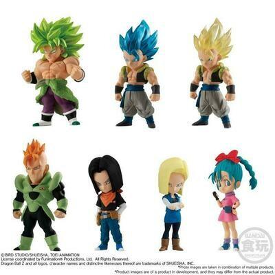 Dragon Ball Adverge Vol. 12 Figures