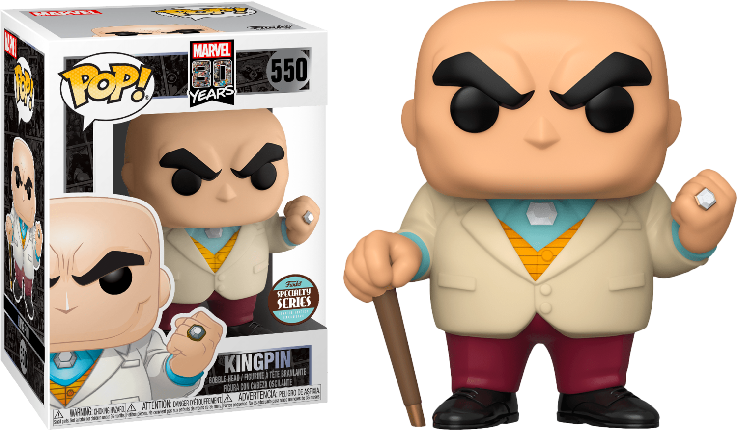 Spider-Man - Kingpin 1st Appearance 80th Anniversary Specialty Store exclusive Pop! Vinyl